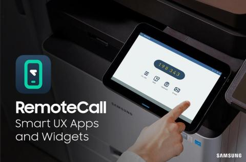 RSUPPORT (KOSDAQ:131370) globally expands with Samsung Smart UX Multi-function Printers. RSUPPORT's remote support solution, RemoteCall and RemoteView, have been rolled out in 46 countries, as pre-installed apps of the industry's first Android-based printing system, Samsung Smart UX's Multi-function Printers (MFPs). (Graphic: Business Wire)