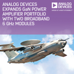 Analog Devices Expands GaN Power Amplifier Portfolio with Two Broadband 6-GHz Modules (Photo: Business Wire)