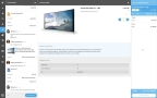 Tradeshift Universal Inbox enables greater procurement collaboration by keeping internal and external conversations organized in one place. (Graphic: Business Wire)