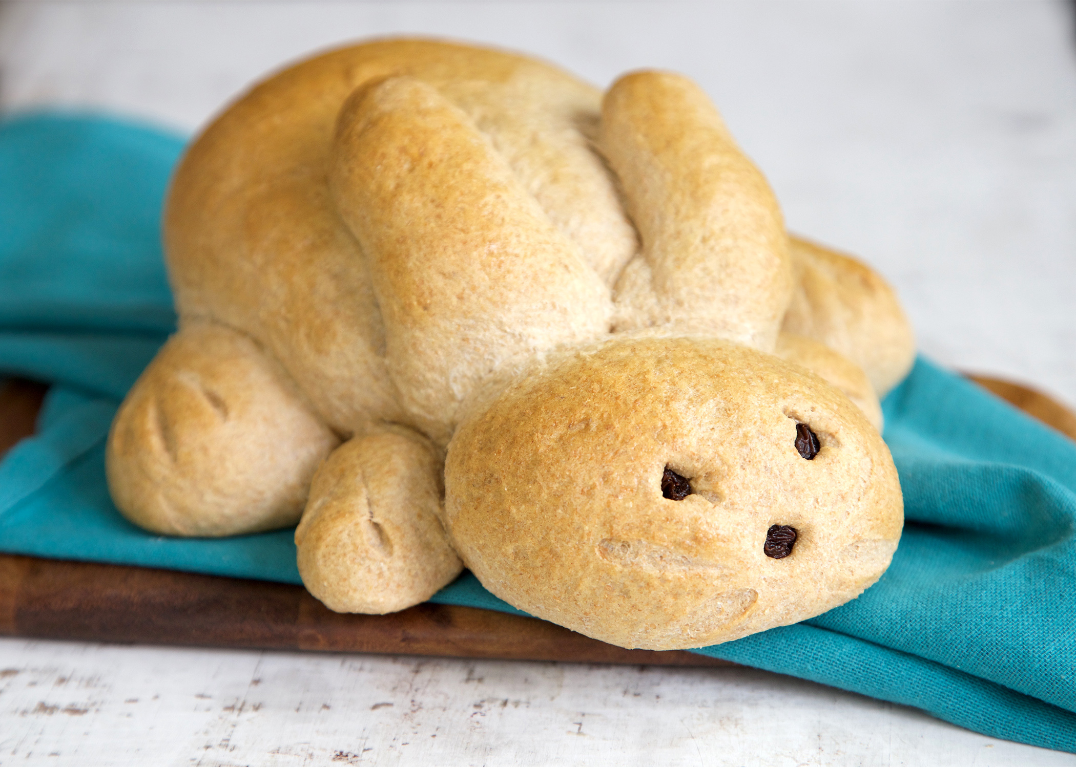 """The """"Honey Bunny,"""" one of the most popular food items at Great Harvest Bread for Easter. (Photo: Business Wire)"""