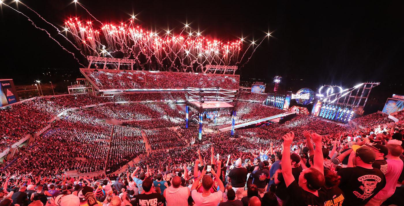 WrestleMania® Breaks More Records (Photo: Business Wire)