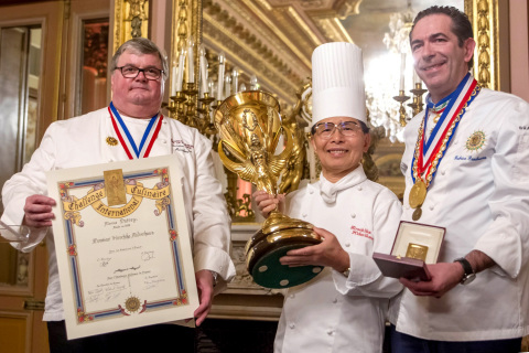 "Honorary Executive Chef Hirochika Midorikawa of Keio Plaza Hotel Tokyo will be the first Japanese chef to be awarded the French cuisine chef prize ""La Coupe d'Or Internationale d'Art Culinaire Marius Dutrey"" for his remarkable achievements in culinary art in the hotel industry. (Photo: Business Wire)"