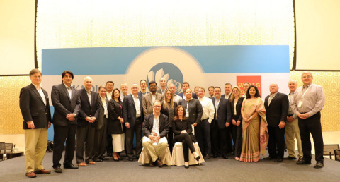 Organizers, panelists, and speakers at the 2017 CRE Symposium in Hyderabad (Photo: Business Wire)