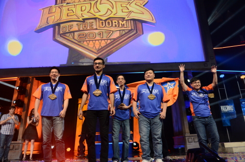 UT Arlington went all in to sweep LSU and claim the Heroes of the Dorm National Championship. (Photo ...