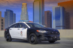 The industry's first pursuit-rated hybrid police car, the all-new Ford Police Responder Hybrid Sedan, is part of a $4.5 billion Ford investment to make electric vehicles that give customers greater capability, productivity and performance – plus better fuel economy. (Photo: Business Wire)