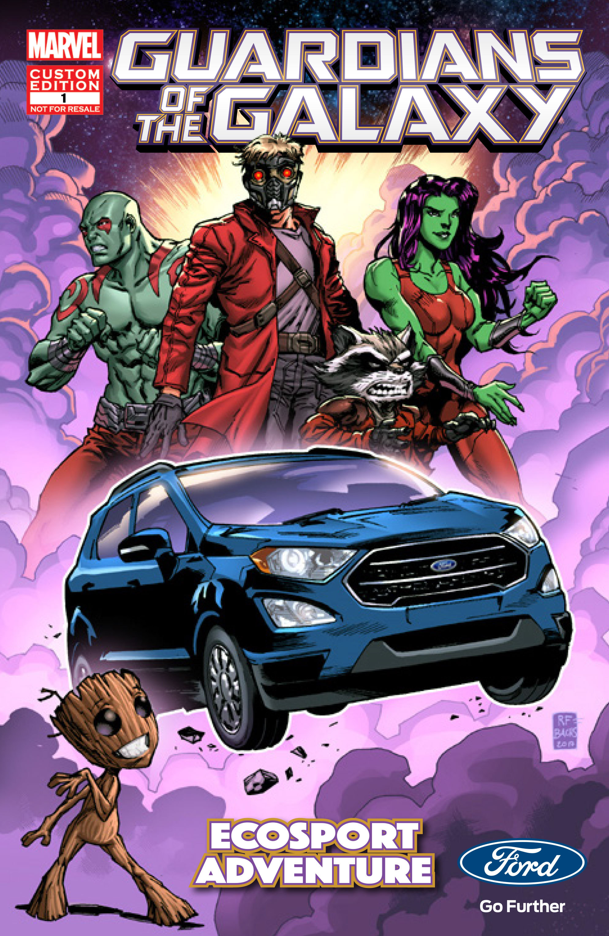 All New Ford Ecosport Rockets Into Marvel Studios Guardians Of The