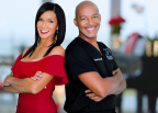 "Plastic surgery super couple, Dr. Michael Jones and Cathleen Trigg Jones, star in new docu-series, ""WE ARE THE JONESES,"" premiering Saturday, April 22nd at 10 P.M. ET/PT on Centric/Photo Courtesy of BET Networks"
