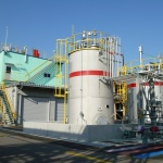 Electrolyte Solution Production Facilities at Nagoya Works (Photo: Business Wire)