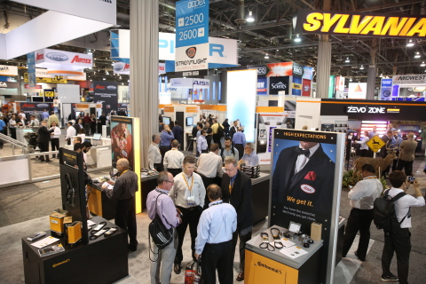 More than 2,200 exhibiting companies will showcase new products and technologies in the automotive aftermarket industry at AAPEX 2017 in Las Vegas. (Photo: Business Wire)