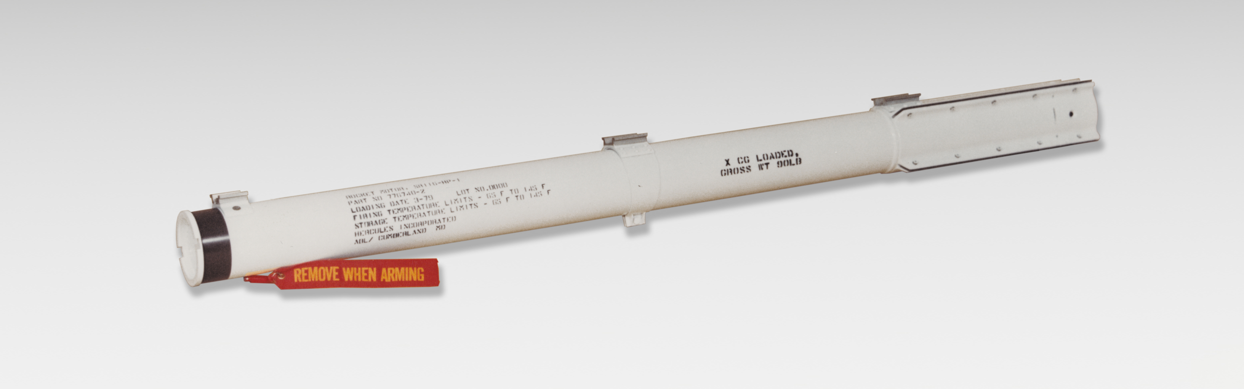 Orbital ATK's SR116 AIM-9P Sidewinder rocket motor is a single-thrust propulsion system used to extend the service life of AIM-9P missiles in use by NATO and allied countries. (Photo: Business Wire)