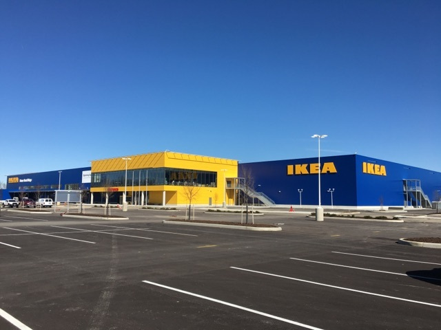 IKEA Columbus will officially open at 9 a.m. on Wednesday, June 7, 2017, expanding the IKEA presence in the Midwestern United States. (Photo: Business Wire)