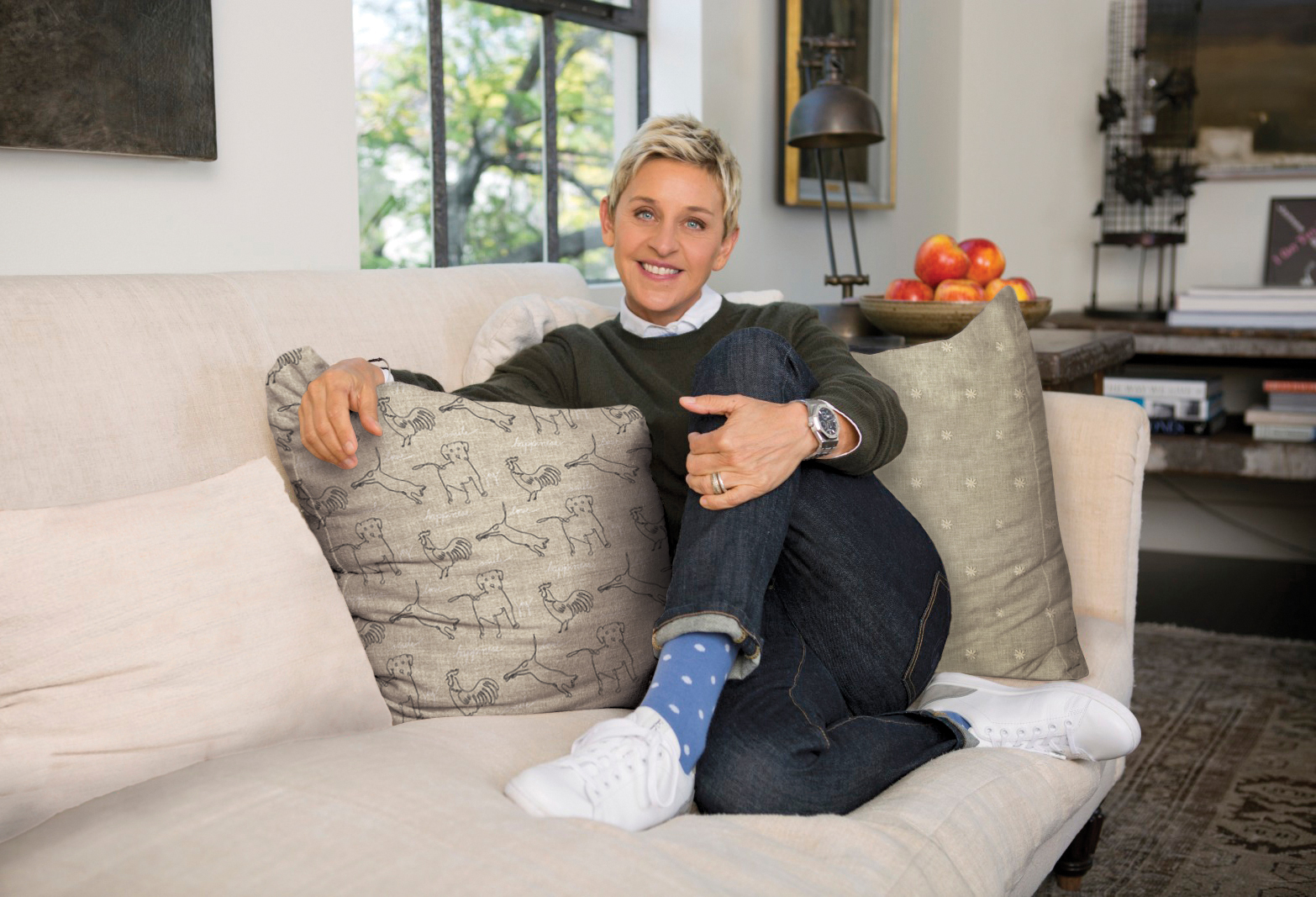 Jo Ann S Introduces Ed Ellen Degeneres Home Decor Fabric Collection Business Wire