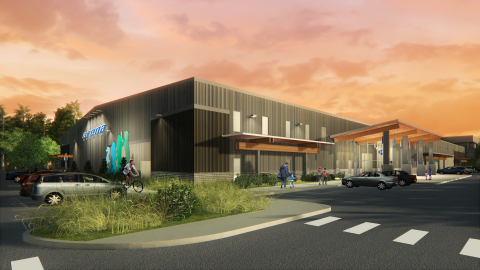 Arena Sports & Entertainment in Mill Creek is slated to open in Fall 2017. Architect: MG2 (Photo: Business Wire)