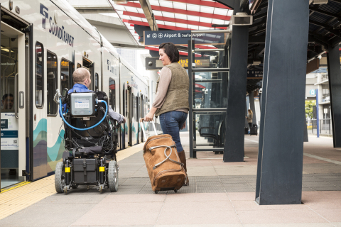 VOCSN was designed for everyday mobility so that patients can focus on their relationships with loved ones and live their life. (Photo: Business Wire)