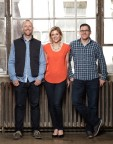 Merge Executive Leadership Team (from L-R): Chris Tussing, Lauren Sheehan and Riley Sheehan (Photo: Business Wire)