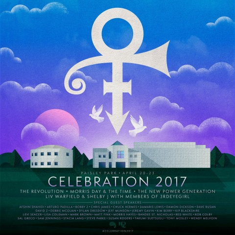 CELEBRATION 2017 - CELEBRATING PRINCE (Graphic: Business Wire)