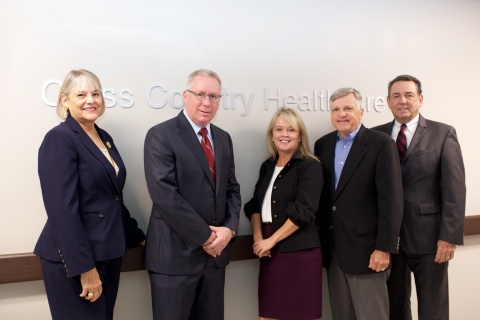 (Pictured left to right) Pamela Stephany, Bill Grubbs, Vickie Anenberg, Roy Krause, John Benz (Photo: Business Wire)