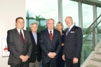 (Pictured left to right) John Benz, Roy Krause, Bill Grubbs, Pamela Stephany, J. David Armstrong, Jr. (Photo: Business Wire)