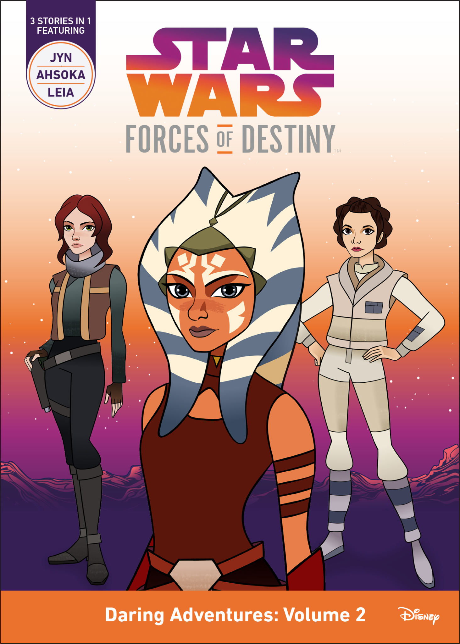 Star Wars Forces of Destiny Daring Adventures: Volume 2 Book Cover (Photo: Business Wire)