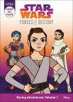Star Wars Forces of Destiny Daring Adventures: Volume 1 Book Cover (Photo: Business Wire)