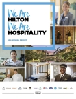 Hilton's 2016 Annual Report (Photo: Business Wire)