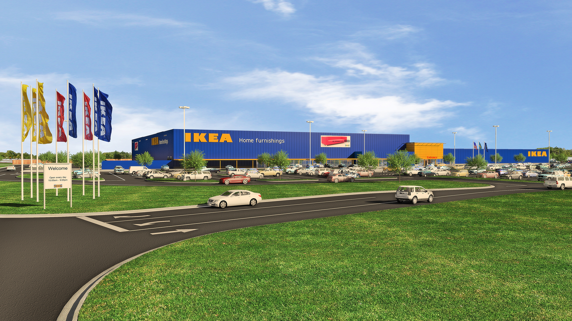 IKEA to Install Indiana's Largest Retail Solar Rooftop on Future Store Opening Fall 2017 in Fishers, IN (Photo: Business Wire)