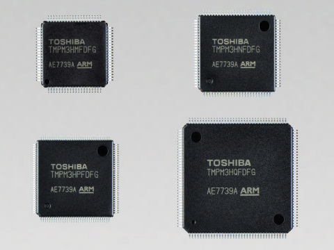 "Toshiba: ""M3H group (2),"" the third product group in the TXZ(TM) Family of low-power, high-speed mic ..."