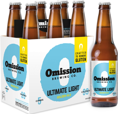 Omission brewing co launches ultimate light golden ale a for Calories in craft beer