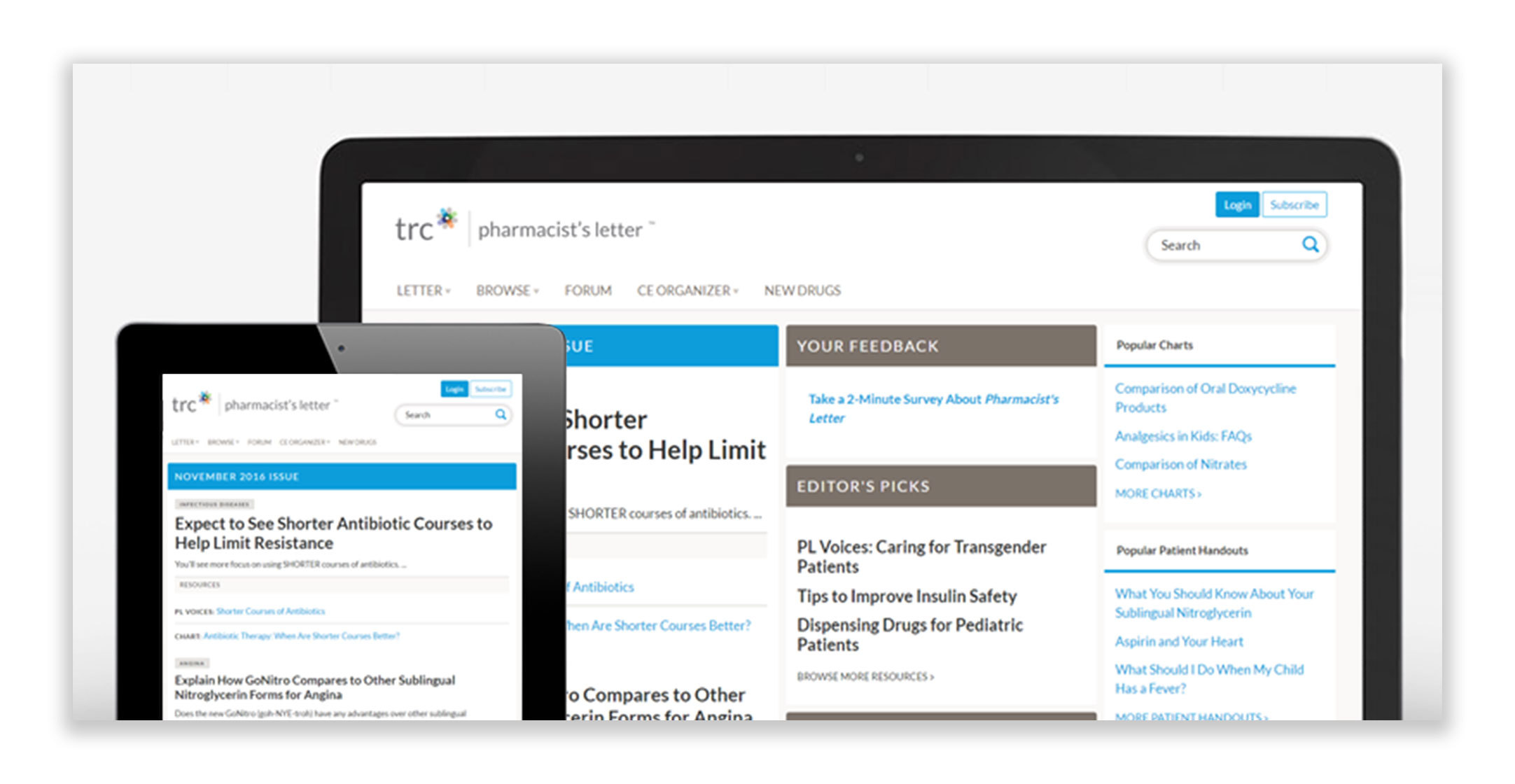 TRC's new modernized site experience (Graphic: Business Wire)