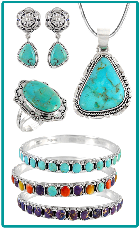 Genuine Turquoise Jewelry (Photo: Business Wire)