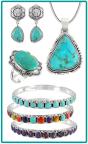 Genuine Turquoise Jewelry (Photo: Business Wire)