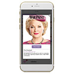 YouCam partners with the new Broadway musical WAR PAINT for a one-of-a kind theatrical augmented reality beauty experience—directly from your phone. (Photo: Business Wire)