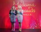 Trisha Yearwood comes face-to-face with wax Trisha Yearwood during the grand opening event at Madame Tussauds Nashville on Thursday, April 13. (Photo: Business Wire)