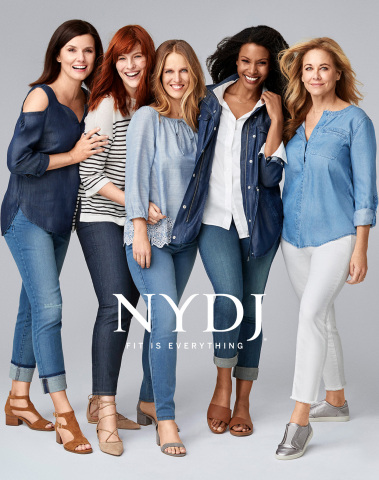 "NYDJ Spring 2017 ""Fit is Everything"" Campaign (Photo: Business Wire)"