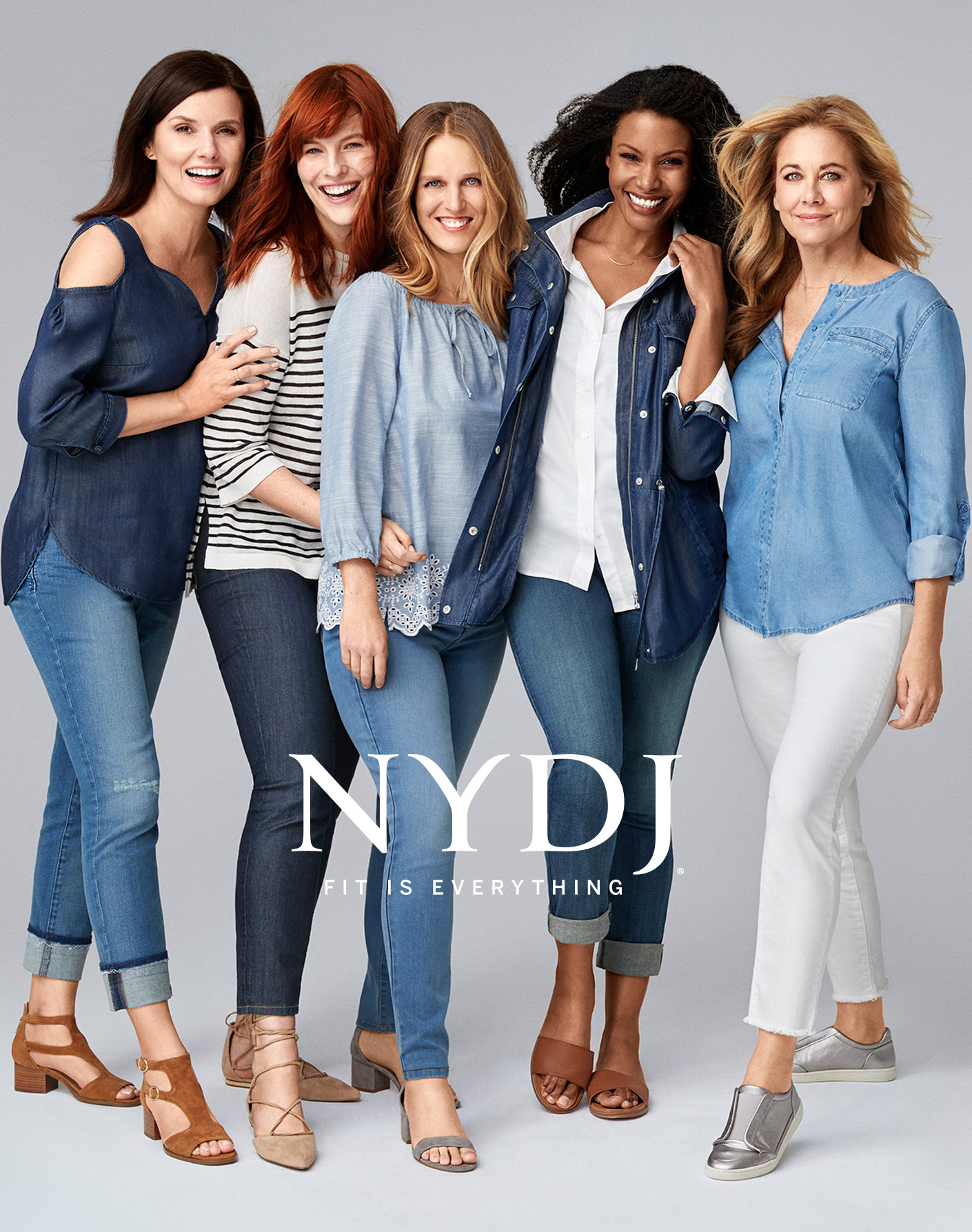 """NYDJ Spring 2017 """"Fit is Everything"""" Campaign (Photo: Business Wire)"""