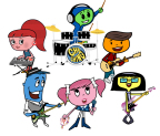 Cha-Ching Money Smart Kids features band members exploring basic money concepts in educational music videos for kids. (Graphic: Business Wire)