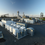 SCE and GE bring world's first hybrid battery storage and gas turbine system (Photo: Business Wire)