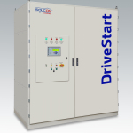 Solcon Industries' DriveStart, the first of its kind, IGBT based Medium Voltage Soft Starter with ratings of 6.6KV up to 750A (Photo: Business Wire)