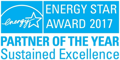 For 13 consecutive years, Ecova has been honored by the EPA for continued leadership in protecting the environment through superior energy efficiency achievements. (Graphic: Business Wire)
