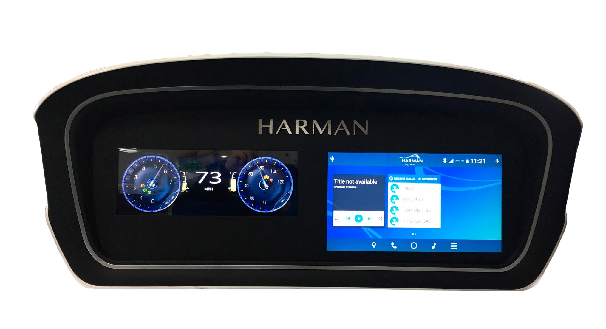 Representation of HARMAN's Digital Cockpit Console (Photo: Business Wire)
