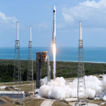 """Orbital ATK's """"S.S. John Glenn"""" Cygnus spacecraft successfully launches aboard a United Launch Alliance (ULA) Atlas V rocket, bound for the International Space Station with over 7,600 pounds of science research and crew supplies. Photo Credit: United Launch Alliance"""