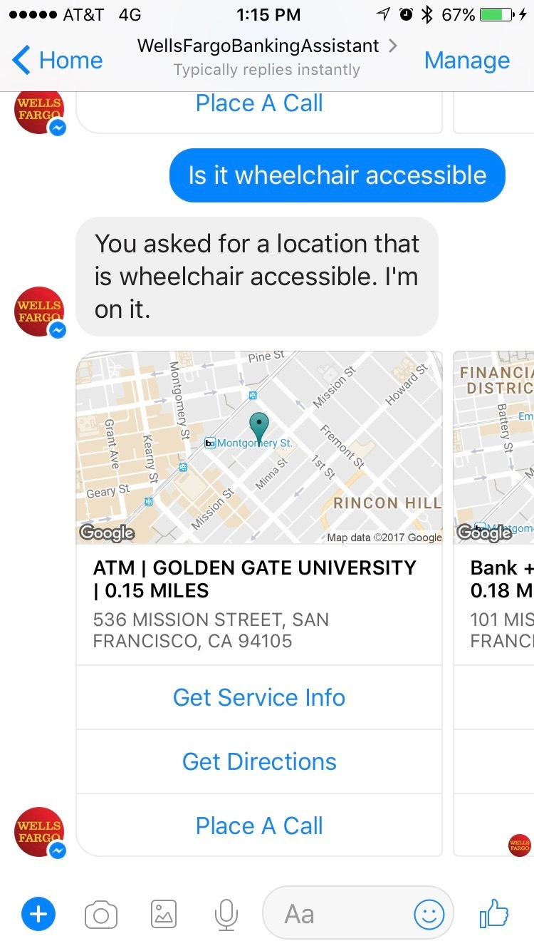 Wells Fargo Testing Bot For Messenger Featuring New Customer Service  Experiences | Business Wire