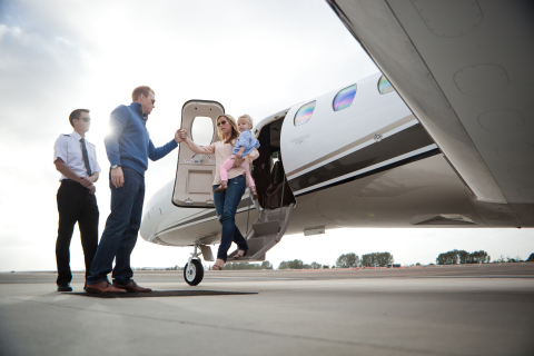 Private jet charter company Latitude 33 Aviation was founded in 2006 with the purpose of providing a superior level of client service. As the only private jet operator in San Diego to have received the ARGUS Platinum Rating, Latitude 33 has operated over 40,000 flight hours with a perfect safety record. (Photo: Business Wire)