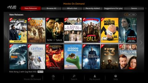 Evolution Digital's eVUE-TV Platform (Photo: Business Wire)
