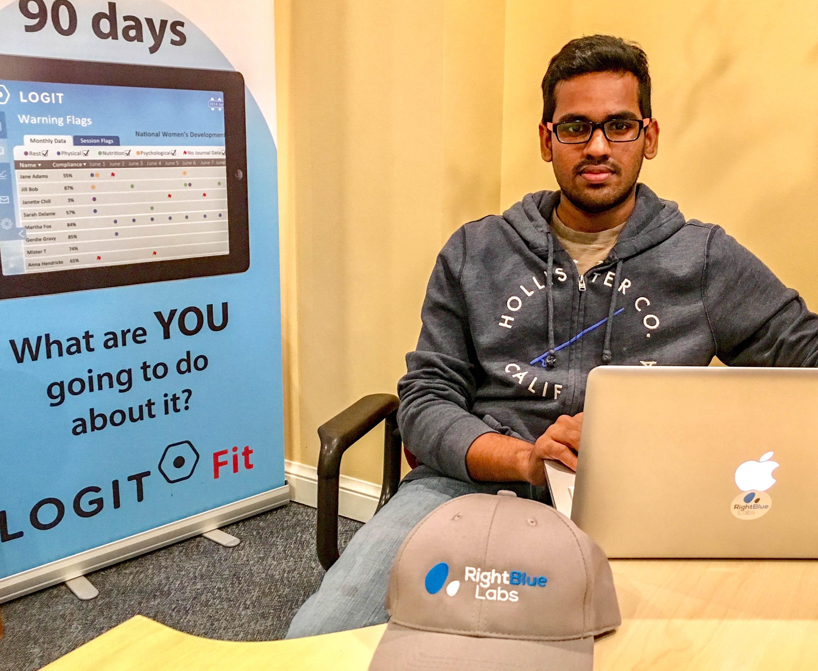 Venkata Nandamuri, un employé de la société torontoise RightBlue Labs, est le lauréat du prix Catalyseur MAGNUS 2017 pour la meilleure recrue. (Photo: Business Wire)