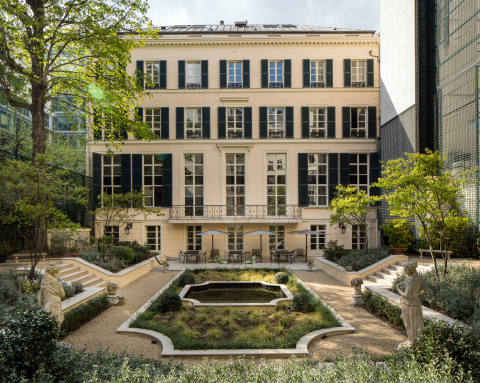 Goodwin's expanded Paris office is set in an 18th century townhouse in the heart of the city's historic 8th arrondissement. (Photo: Goodwin)