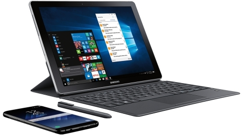 Samsung Galaxy Book 12-inch (Photo: Business Wire)