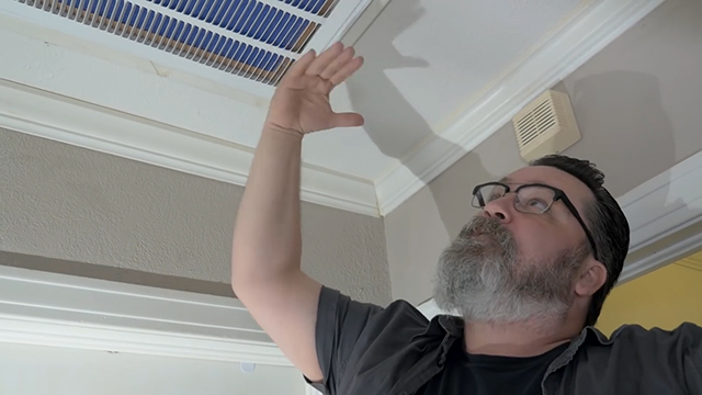 Your filter stops the particles from creating a blockage inside your HVAC unit. With a dirty filter, your air conditioner will not function as efficiently and will use more energy, so it is important to change the filter every so often. For more information and tips, visit our website at: https://www.ahs.com/.