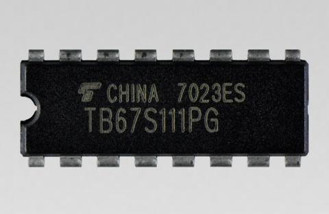 """Toshiba: """"TB67S111PG,"""" a multi-channel solenoid and a unipolar motor driver IC that achieves high-voltage and low ON resistance drive. (Photo: Business Wire)"""