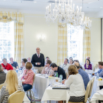 Achievers open-enrollment program with Dr. Gerald D. Bell at the Carolina Inn in Chapel Hill, NC. (Photo: Business Wire)
